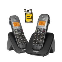 Kit Aparelho Telefone sem fio ramal TS 5122 Bina 2 Headset - Intelbras