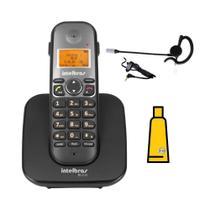 Kit Aparelho Telefone sem fio TS 5120 Bina Headset Intelbras -