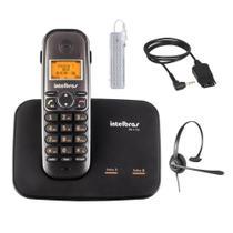 Kit Aparelho Telefone Sem Fio TS 5150 Com Headset Intelbras -