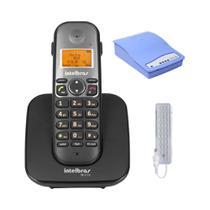 Kit Aparelho Telefone TS 5120 Intelbras entrada para chip -