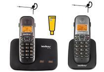 Kit Aparelho Telefone TS 5150 Bina 2 Linhas Ramal e Headset - Intelbras