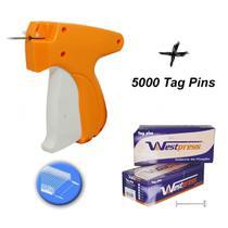 Kit Aplicador De Etiquetas Tag Pin De Roupa + 5000 Pins - Levolpe