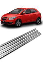 Kit Aplique Cromado Pestana Chevrolet Onix e Novo Prisma -