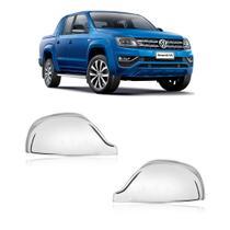 KIT Aplique Cromado Retrovisor VW Amarok 2010 /... - Shekparts