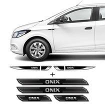 Kit Aplique Lateral Adesivo Onix + Soleira Da Porta Protetor - Sportinox