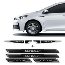 Kit Aplique Lateral Corolla 2015/2019 + Soleira Protetora - SPORTINOX