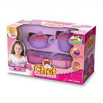 Kit Aprendendo a Cozinhar Chef Gourmet 002 Lummar - Lumar