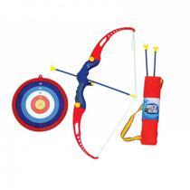 Kit Arco e Flecha Infantil com Alvo + 3 Flechas com Ventosas  Bel -