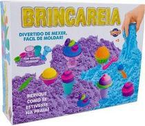 Kit Areia De Brincar Sorvete Caixa Grande 600G - Toyng