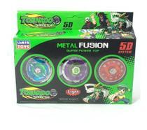 Kit Arena Beyblade + 6 Beyblade Tornado + 2 Lançadores - Lianfa Toys / Hasbro