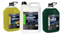 Kit Aroma Limpador Multiacao Apc Limpa Estofados Vonixx -