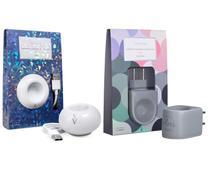 Kit Aromatizadores Difusor Elétrico Porcelana Via Aroma Original e Terracota Colors -