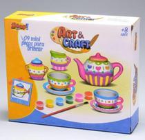 Kit Art Craft Conjunto Xicaras - 9 Peças - Zoop Toys -