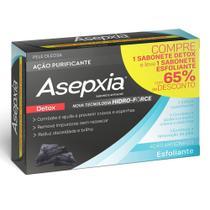 Kit Asepxia Sabonete Antiacne Esfoliante+ Sabonete Detox -