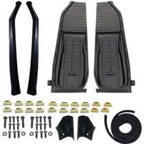 Kit assoalho fusca +caixa de ar +pe coluna+barquinha +borracha chassis +parafusos - Volkswagen