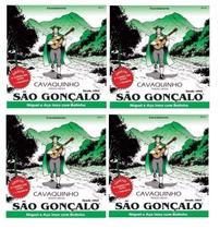 Kit Atacado 4 Encordoamento Cavaco São Gonçalo C/ Bolinha -