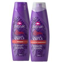 Kit Aussie Miracle Curls Shampoo + Condicionador 180ml -