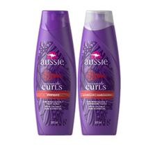 Kit  Aussie Miracle Curls Shampoo + Condicionador 360ml