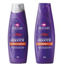 Kit Aussie Miraculously Smooth 180ml: Shampoo + Condicionador -