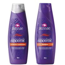 Kit Aussie Miraculously Smooth 180ml: Shampoo + Condicionador -