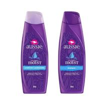 Kit Aussie Moist 180ml: Shampoo + Condicionador -