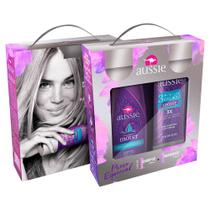 Kit Aussie Moist Shampoo 180ml + Máscara de Tratamento 236ml