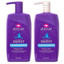 Kit  Aussie Shampoo E Condicionador Moist 865ml -