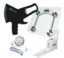 Kit Avaliação Física medidor de gordura Adipômetro clínico com Balança  estadiômetro - Avanutri