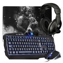 Kit Avenger + Mouse Pad + Fone - C3 tech