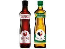Kit Azeite de Oliva Gallo Clássico  - 500ml + Molho de Pimenta Original com Azeite 50ml