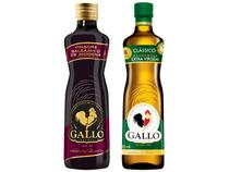 Kit Azeite de Oliva Gallo Clássico  - 500ml + Vinagre Balsâmico de Modena 250ml