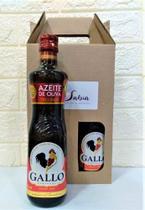 Kit Azeite de Oliva Tipo Único Gallo - com 2 Unidades -