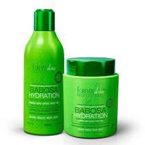 Kit Babosa no Cabelo Forever Liss com Shampoo 300ml e Máscara 250g -