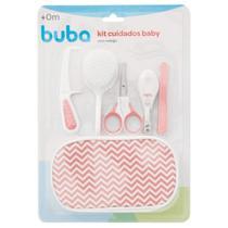 Kit Baby Cuidados Do Bebê Com Estojo Rosa Buba - Buba Baby