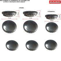 Kit bacias em aluminio para fogões dako atual 6 bocas -