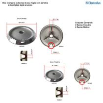 Kit bacias para fogões electrolux 4 bocas 52 lpv -