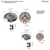 Kit bacias para fogões electrolux 4 bocas 56 sx -
