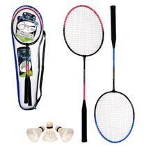 Kit Badminton com 2 Raquetes - Art Sport
