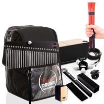 Kit - Bag Case Cajón Inclinado -  10 Acessórios Percussivos - Witler Drums
