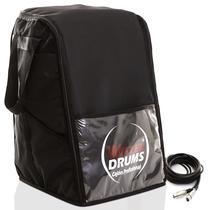Kit - Bag Case Para Cajón Inclinado - 02 Cabos De 3 Metros - Witler Drums