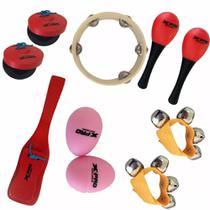 Kit Bandinha Rítmica C.Ibanez X-pro LT6 6 peças Com Bag -