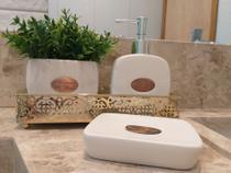 Kit Banheiro Le Bain 3 peças - Jolitex