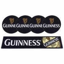 Kit Bar Mat Guinness + 4 Porta copos Guinness -