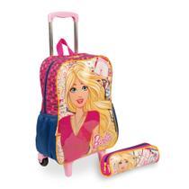 Kit Barbie 13M - Mochilete + Estojo - Sestini