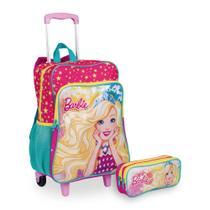Kit Barbie 19M Plus 2 - Mochilete + Estojo - Sestini
