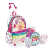 Kit Barbie Dreamtopia 3 - Mochilete + Lancheira - Sestini
