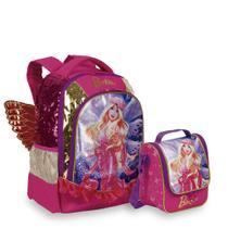 Kit Barbie Dreamtopia 4 - Mochila + Lancheira - Sestini