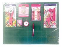 Kit Base de Corte A2 Tesoura com Mini Prendedores Patchwork - Lanmax