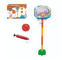Kit basquete com tabela bola e bomba e pedestal  até 110 cm - Wellmix