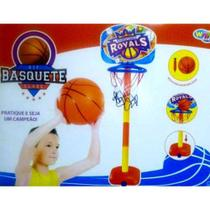 Kit Basquete Infantil com Base Bola e Inflador (REF: WB 5787) - Well Kids